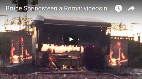 Bruce Springsteen a Roma