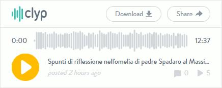 Ascolta l'audio in streaming